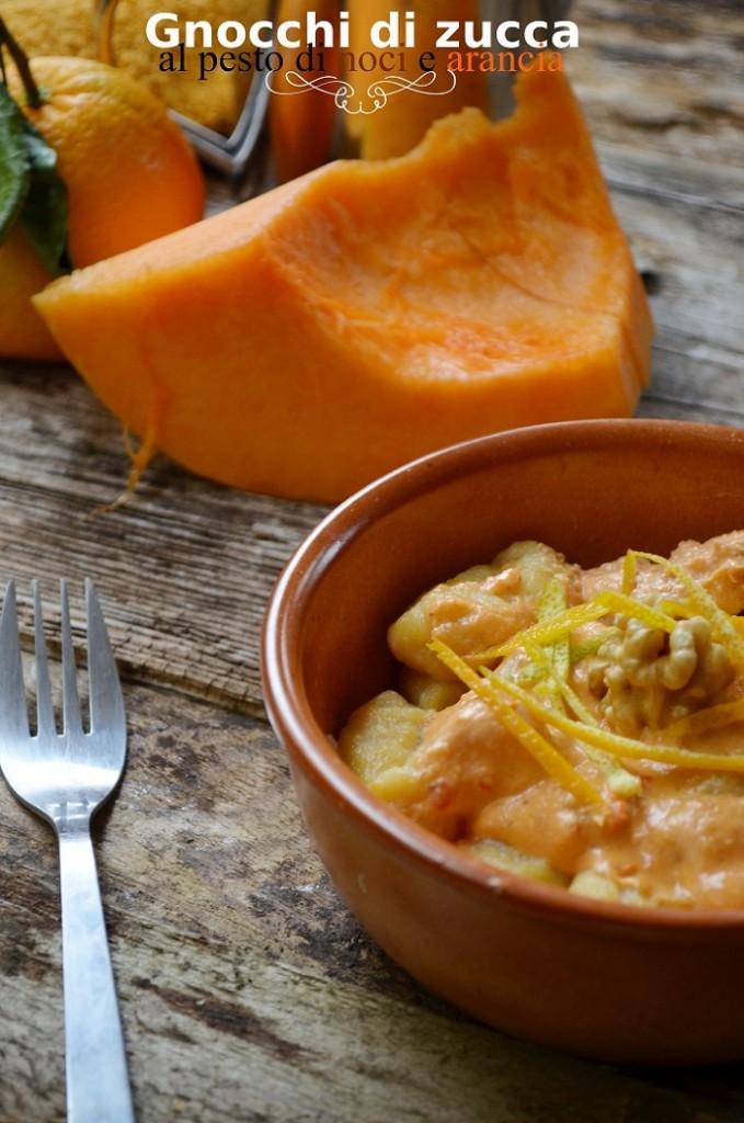 Non ci posso credere e gli gnocchi di zucca al pesto di noci e arancia