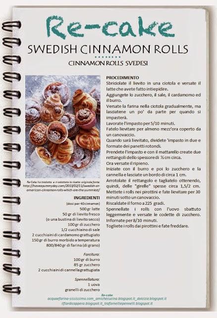 Re-cake 3: Swedish cinnamon rolls
