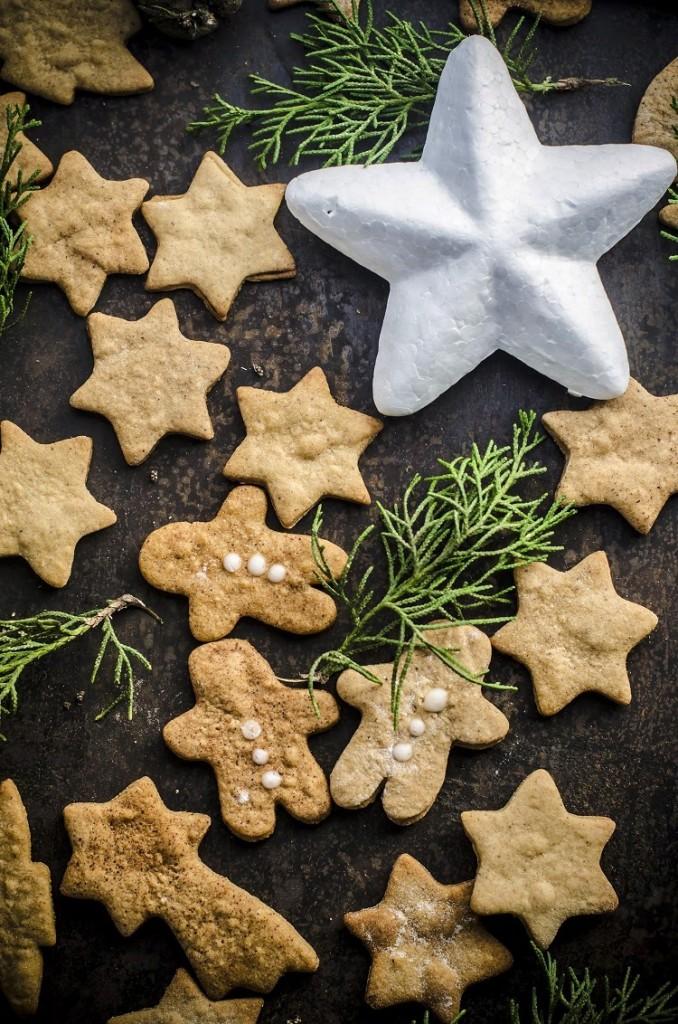 Pepparkakor, biscotti svedesi speziati #regali di Natale homemade