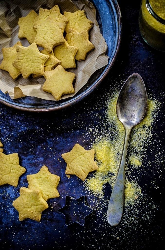 Biscotti di polenta e limone