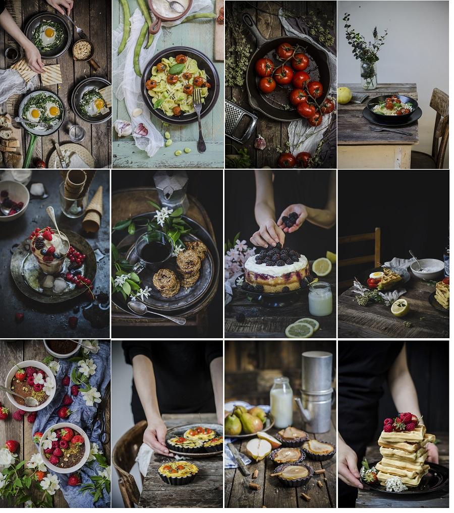 La presentazione dei piatti, la mia intervista sul nuovo sito di Malvarosa Edizioni