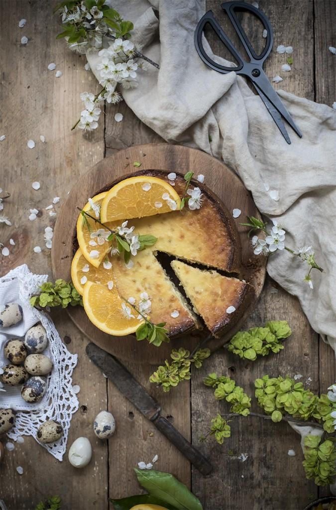 Pastiera-cheesecake