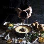Tart al cioccolato pere e ricotta – Chocolate pear ricotta tart