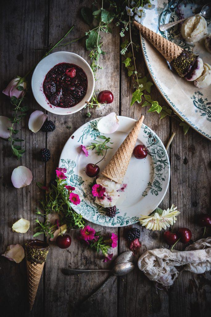 Gelato alla malvasia- Malvasia icecream- In the Mood for Summer