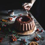 Ciambella cioccolato e arancia- One bowl chocolate orange bundt cake