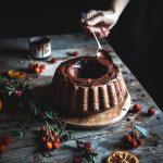 Ciambella cioccolato e arancia- One bowl chocolate orange bundt cake
