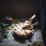 Crostata di ricotta e visciole- Ricotta and sour cherry tart