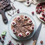 Cheesecake foresta nera- Black forest cheesecake