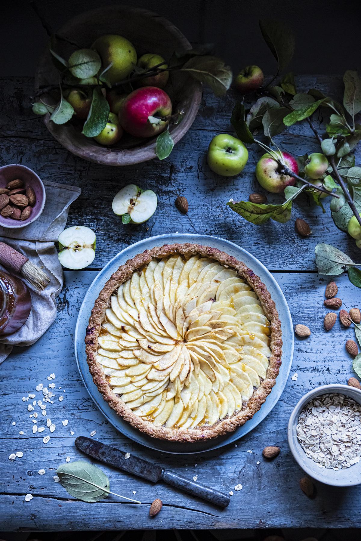 dieta di farina davena e mela limone