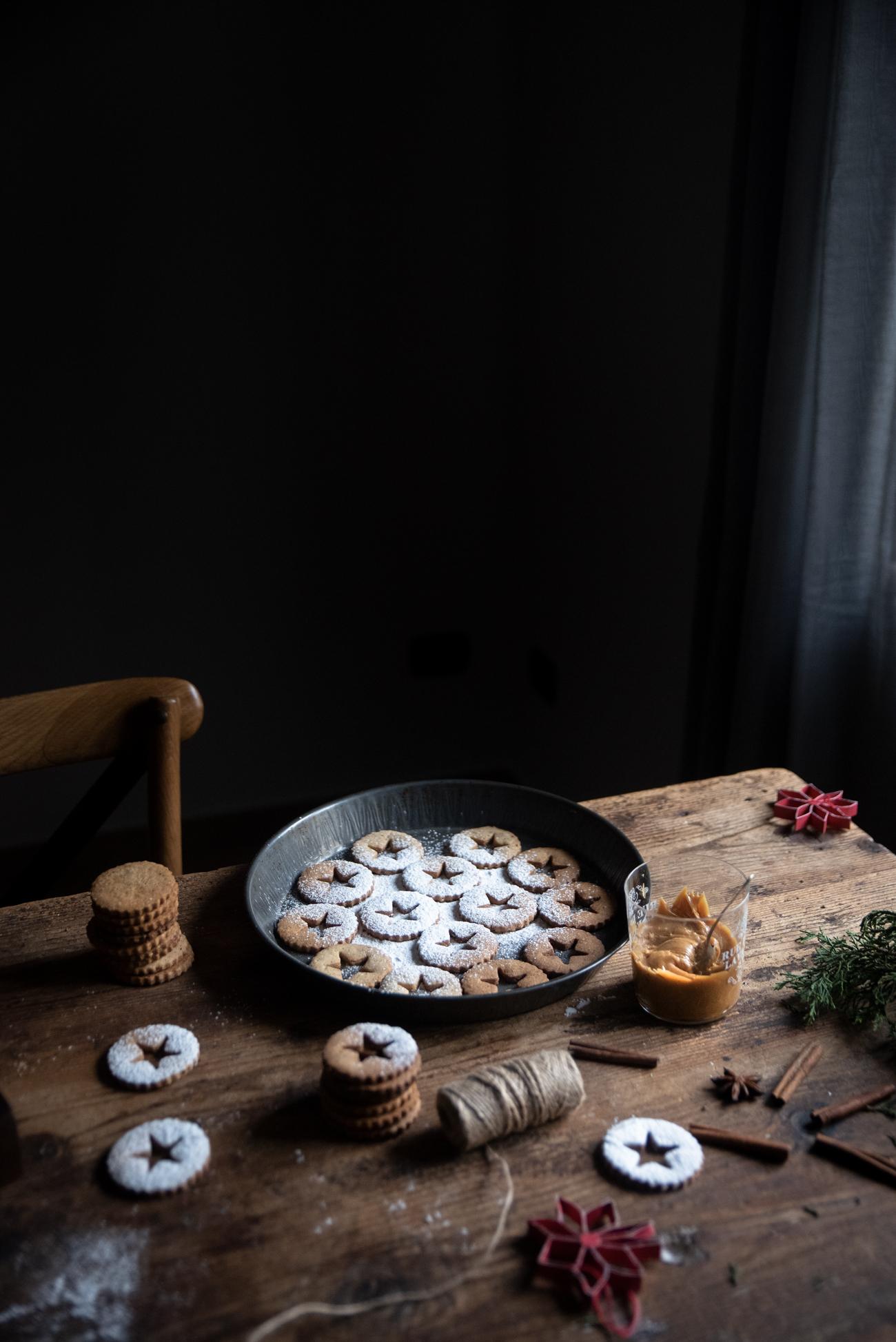 biscotti cannella e caramello