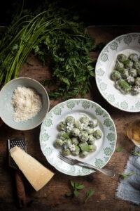 Gnocchi verdi di patate